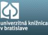 PRINCE2 training and certification - Univerzitná knižnica v Bratislave
